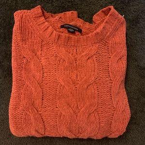 American eagle chenille sweater